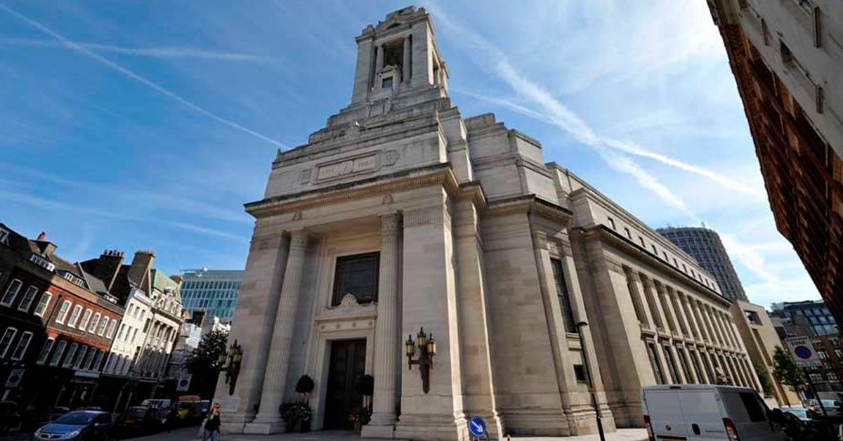 Ο Ναός των Μασόνων στο Great Queen Street, London, England